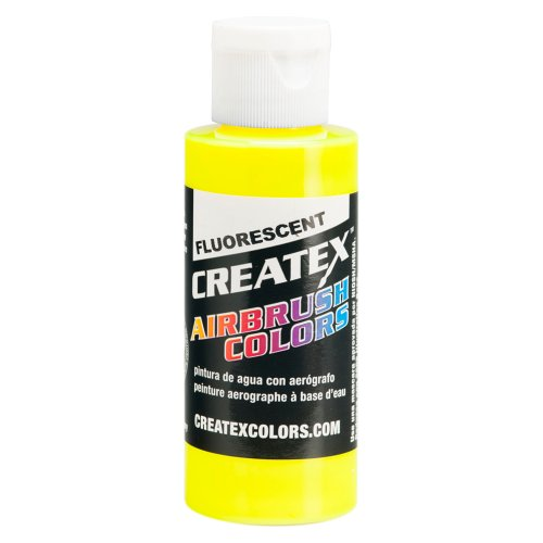 1 Gal. of Createx Fluorescent Yellow #5405-GL CREATEX AIRBRUSH COLORS Hobby Craft Art PAINT by Createx