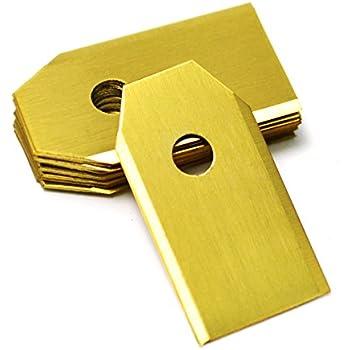 Amazon.com: Husqvarna OEM 9 Pieza Auto Seguridad Cuchillas ...