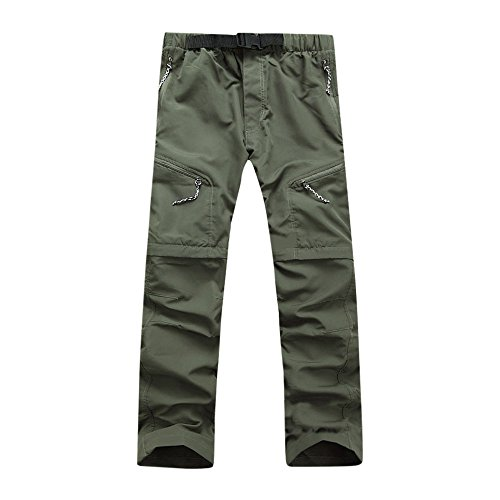 TIMEMEANS Men Summer Quick Dry Outdoor Thin Detachable for sale  Delivered anywhere in USA
