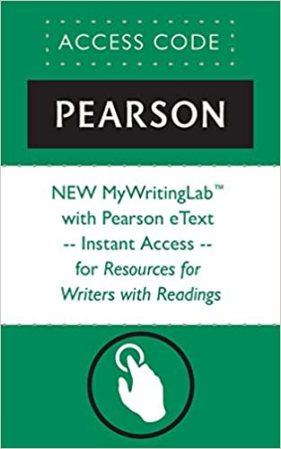Amazon. Com: new mywritinglab with pearson etext - instant access.