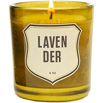 Izola Aromatherapy Soy Essential Oil Vegetable Wax Scented Candles - Lavender