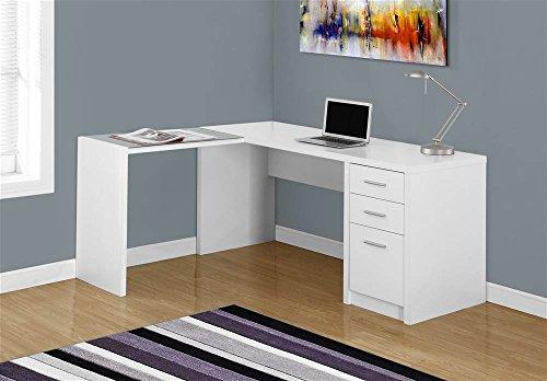 Monarch Specialties I 7136 L-Shaped Computer Desk