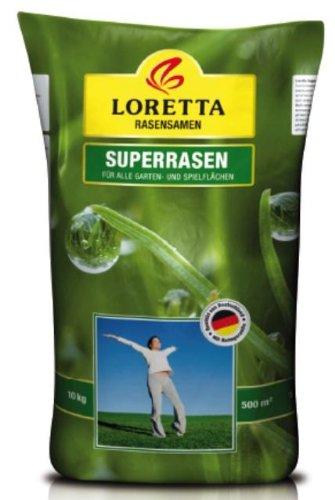 Greenfield Rasensamen Loretta Superrasen 10 kg, grün grün 57700