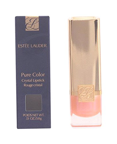 Estee Lauder Pure Color Lipstick, 01 Crystal Baby Creme, 0.13 Ounce