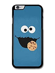 AMAF ? Accessories Cookie Monster Muppet Blue Face Minimalist Poster TV Show case for iphone 6 4.7)