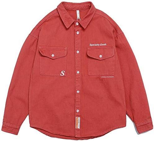 ジャケット メンズ ブルゾン カジュアル ファッション シャツジャケットポケットコートおおきいサイズ