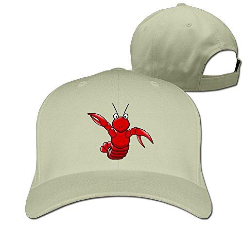 Lobster Unisex Casual Fishing Hat & Cap Natural (Bike Buoy Mug)