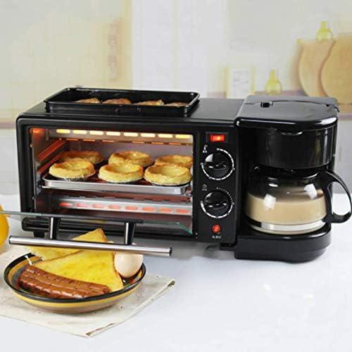 MENGQIZHUANGDAI 3 en 1 Inicio Desayuno Máquina Horno Cafetera ...