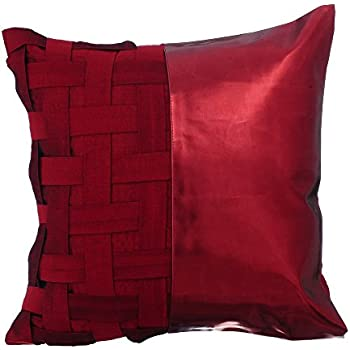 Amazon.com: The HomeCentric Luxury Brown Pillow Shams ...
