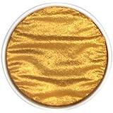 """Finetec Artist Mica Watercolor Pan Refills Pearl Colors 1.2"""" (Gold Pearl)"""