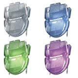 Advantus - 3 Pack - Fabric Panel Wall Clips Standard Size Assorted Metallic Colors 20/Box ''Product Category: Desk Accessories & Workspace Organizers/Wall & Panel Organizers''