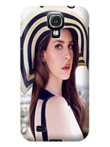 Professional design tpu skin back cover with patterns for Samsung Galaxy s4(Lana Del Rey) by Shari Flanders