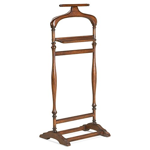 WESTBOURNE PARK VALET STAND - CLOTHES STAND - CHERRY (Kensington Bedroom Collection)