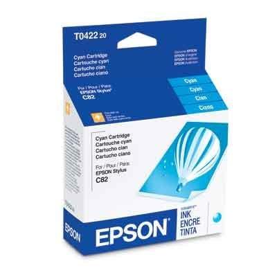 - EPST042220 - Epson Cyan Ink Cartridge