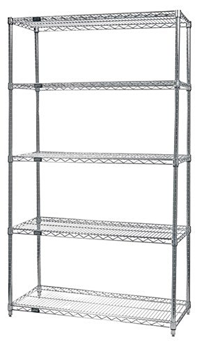 "Review Quantum Storage Systems Home Decorative Wire 5-shelf Starter Unit 21"" By Quantum Storage Systems by Quantum Storage Systems"