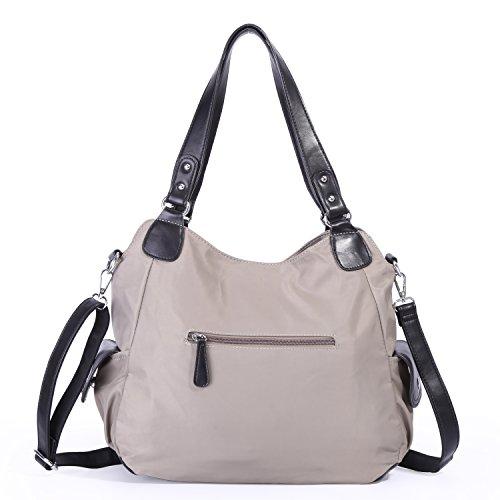 Women Handle Leather Messenger Tote Bag Satchel Top Angelkiss Washed Handbags Shoulder Purses dWnacOZ