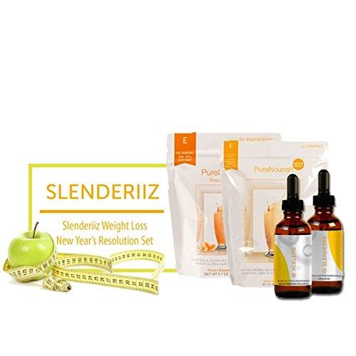 Biosense Clinic Slenderiiz Healthy Slim Set Combo Slenderiix&Xceler8+PureNourishNatural+PureNourishBeautyBoost