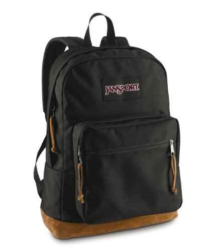 Logo Print Khaki - JanSport Right Pack, Black, One Size
