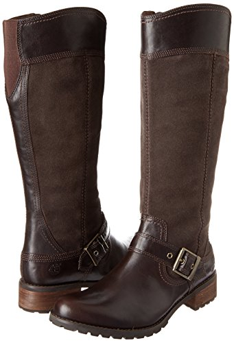 Timberland Women's EK Bethel Tall Harness Boot,Brown,6 W US by Timberland (Image #6)