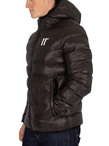 Hombre Puffer Negro Strike Jacket Degrees 11 TSqRwZnxSg