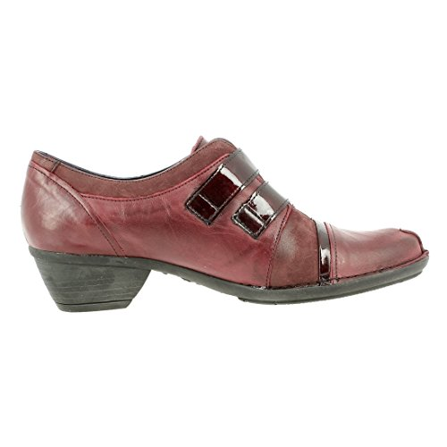 Dorking Women's Loafer Flats Burgundy 27hb6rYa
