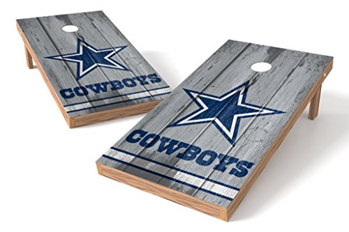 PROLINE NFL Dallas Cowboys 2'x4' Cornhole Board Set - Vintage Design