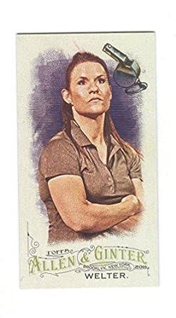 2016 Topps Allen & Ginter's X Mini #179 Jen Welter Rookie Baseball Card Verzamelkaarten, ruilkaarten Verzamelkaarten: sport