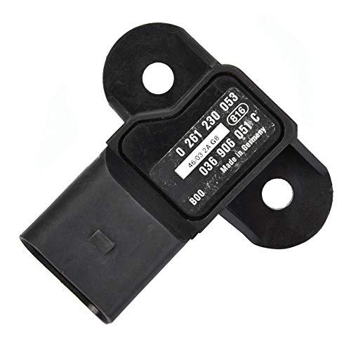 Sensor de presión del múltiple de admisión, 0261230053 Sensor de presión para A4 A5 A6 A8 Q7 R8 VW PASSAT 0261230053