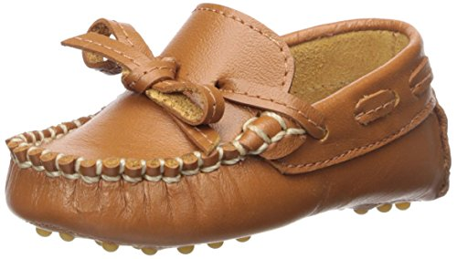 Image of Elephantito Boys' Driver Loafer, Natural, 4 M US Infant
