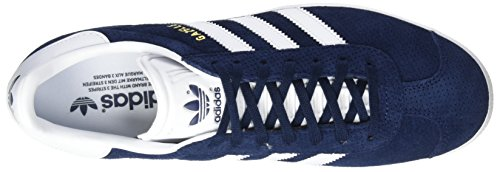 Basses Collegiate Baskets Gold Metallic Femme White Navy Bleu Gazelle adidas Footwear q4ZHB4wE