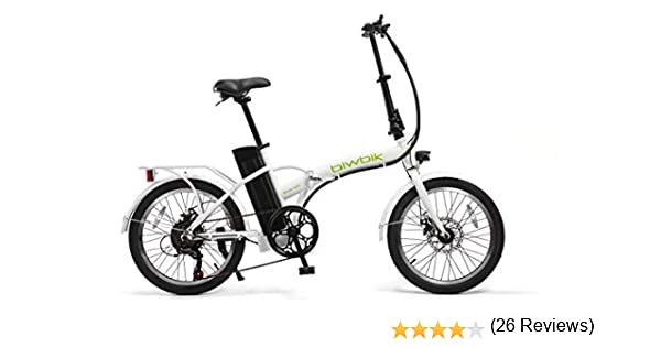 BICICLETA ELECTRICA PLEGABLE MOD. BOOK 200 BATERIA ION LITIO ...
