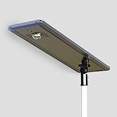 30W Superior Solar/Hybrid Energy Efficient LED Ultra-Powerful Self-Contained Smart Commercial Residential Lighting w/ Mounting System for Building Parking lots Bike Path Street (30)