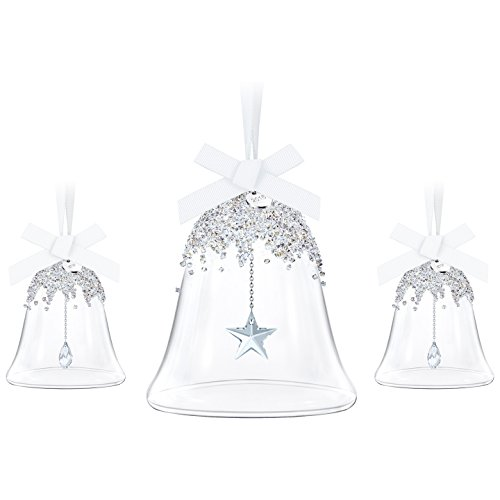 Swarovski Annual Edition 2016 Christmas Bell Ornament, 3-Piece -