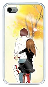 best Diy For Touch 4 Case Cover Happiness lover figure PC Black Diy For Touch 4 Case Cover