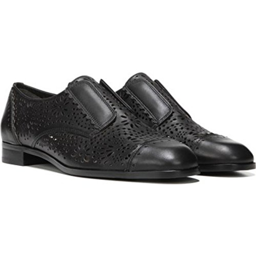 V Spiga Eliza Via Oxford Women's Black Leather xEfwR