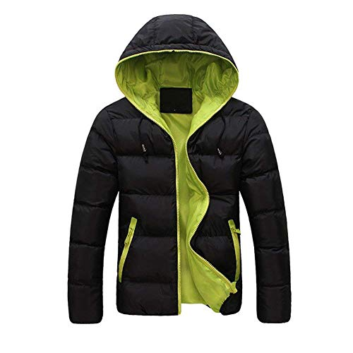 Hx Dimensioni Arancioni Tasche Laterali Giacca Uomini Inverno Incappucciati Giù Sudore Di Degli Corta Vestiti Comode Modo Cappotto IqRzS