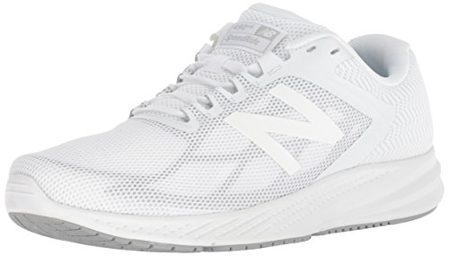 - New Balance Women's 490v6 Cushioning Running Shoe, White, 8 B US