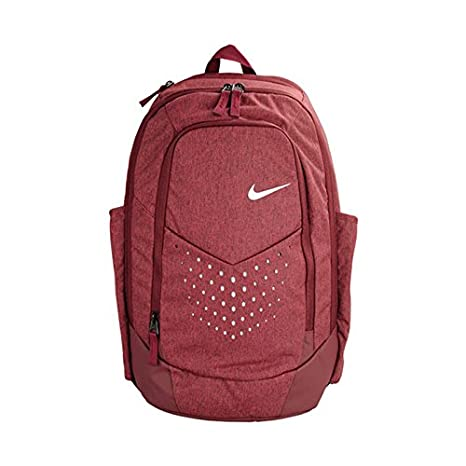 0d65ba03a5f5 Nike 25 Ltrs University Red Black Metallic Silver Laptop Backpack ...