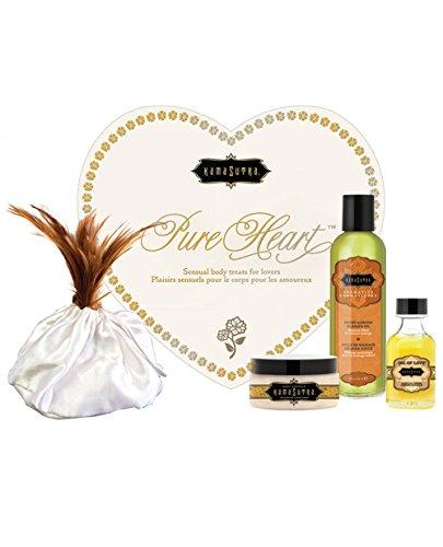 Kama Sutra Lovers Heart Kits (White Pure Heart)