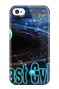 High Grade Flexible Tpu Case For Iphone 4/4s - Meca Team
