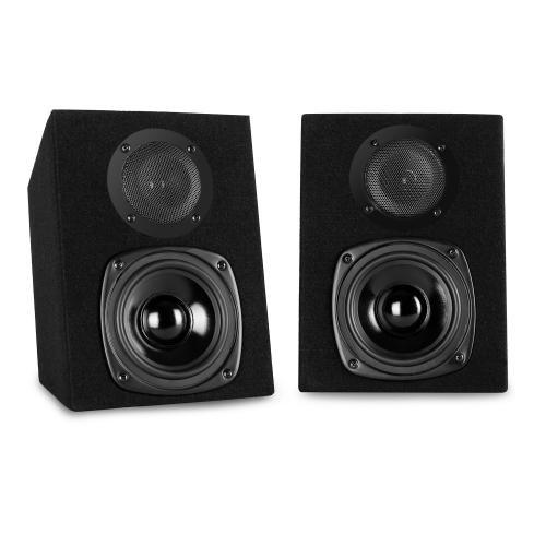 Auna ST-2000 40W Noir Haut-Parleur - Hauts-parleurs (2-Voies, avec Fil, Terminal, 40 W, 100-20000 Hz, Noir)