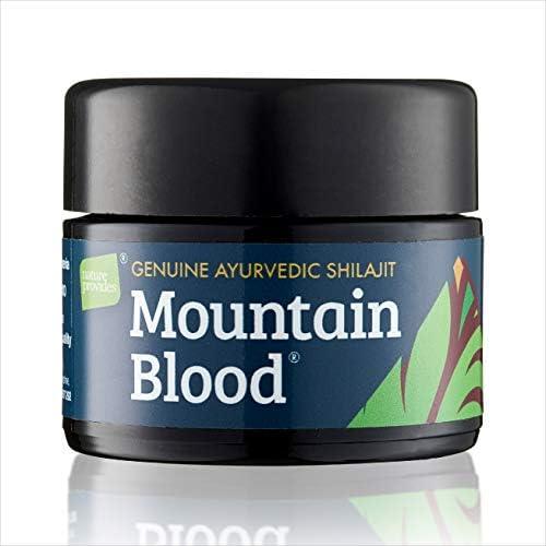 Hochwertiges Shilajit von Mountain Blood® (30g) UK-geprüft, 3 Monatsvorrat. Organisch Non-GMO, vegan, ethische Herkunft, unabhängig in Großbritannien laborgeprüft, verpackt in UV-Glas