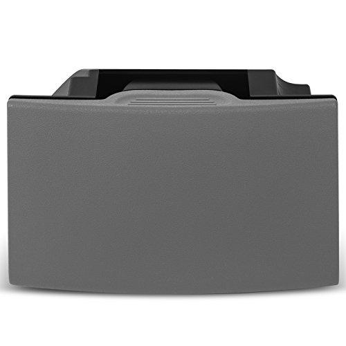 OxGord Cup Holder Insert for 05-12 Pathfinder 05-15 Xterra 05-19 Frontier - Replaces 96965-ZP00D Rear Seat Center Console Box Assy-Cup - Gray ()