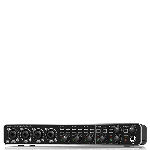 [해외] BEHRINGER ( 베린가 ) USB접속 오디오 인터페이스 UMC404HD
