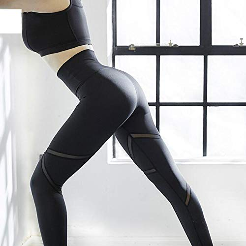 Gimnasio Mujeres Secado De Ojjfj Deportiva Longitud Yoga Cintura Alta Completa Negros Diseño Leotardos Rápido Pantalones Deportivos Para Negro Leggings Ropa Yf1xqBwP