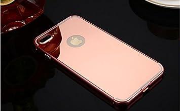 coque iphone 7 rose miroir