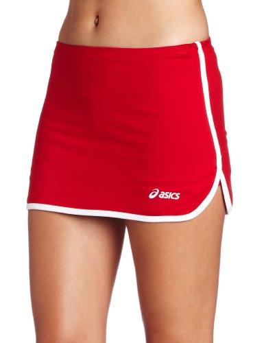 - ASICS Women's Field Skort, Red/White, Large