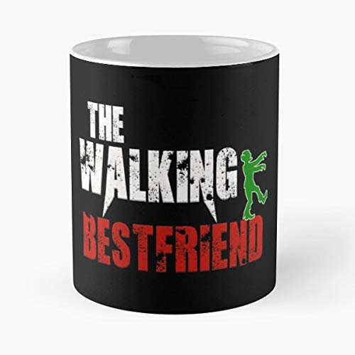 Walking Best Friend Halloween Scary - Funny Mug Coffee Gift For Christmas Father's Day -