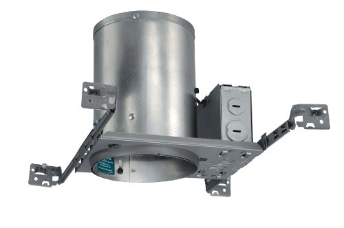 Juno Lighting IC20NW 5-Inch IC Rated New Construction Universal Housing with Quickwire, No Socket -
