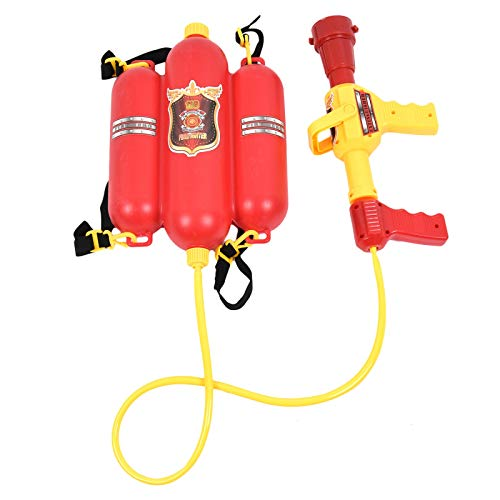 (Timoo Fireman Backpack Watergun Blaster, Water Gun Toys for Indoor)